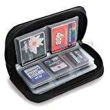 22 Slots Case Pouch Holder for Memory Card SD SDHC MMC CF Micro SD by Broadfashion