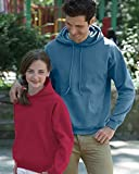 #1: Gildan Men's Heavy Blend Fleece Hooded Sweatshirt G18500
