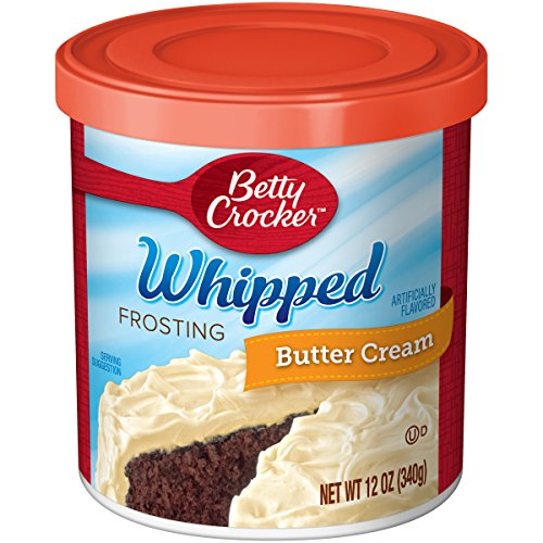 (Betty Crocker Frosting, Whipped Gluten Free Frosting, Butter Cream, 12 Oz Canister )