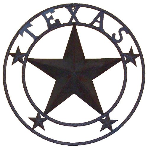 LL Home Metal Star, Texas, - Metal Art Texas