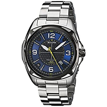Bulova Men's 98B224 Precisionist Analog Display Japanese Quartz Watch
