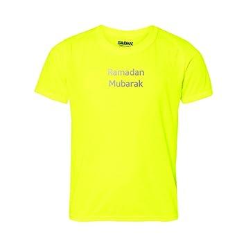 Ramadan Mubarak T-Shirt. Islamische Muslime Segen. Reflektierende Text. NICE  Geschenk für
