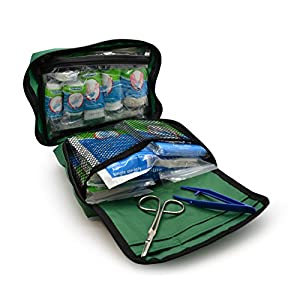 90 Piece Premium Kit Includes Eyewash, 2 x Cold (Ice) Packs and Emergency Blanket for Home, Office, Car, Caravan…