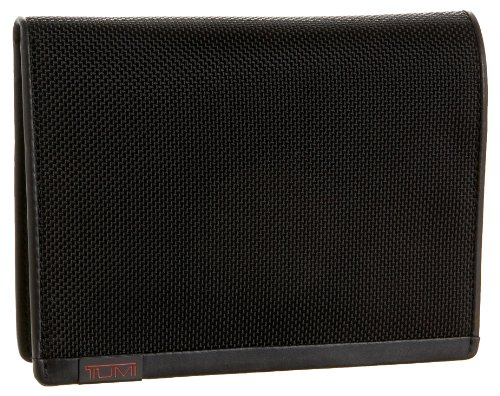 TUMI - Alpha Passport Case Wallet with RFID ID Lock for Men - Black
