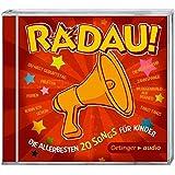 RADAU! Die Allerbesten 20 Songs für Kinder (CD): Lieder, Rockmusik für Kinder, ca. 50 Min.