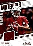 cardinals football cards - 2019 Absolute Absolute Rookie Materials #26 Kyler Murray Used Jersey Arizona Cardinals RC Rookie NFL Football Trading Card