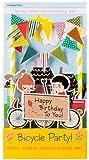 Party Partners Mini Cake Decor Kit, Bicycle Birthday Party