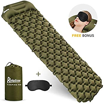 Amazon Com Relefree Sleeping Pad Ultra Compact