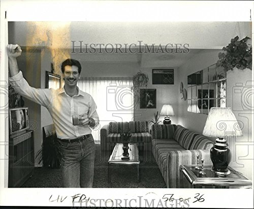 1985 Press Photo Michael B Whipple Instant Decor Rents Furniture Portland (Michaels Portland Furniture)