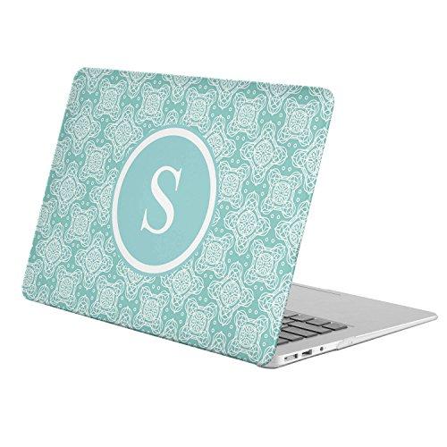 [ S - INITIAL ] [ Name Monogram Full Body Hard Case ][ Apple Old Macbook Pro 13