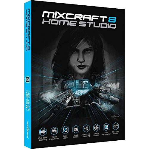 Acoustica Mixcraft Home Studio 8 by Acoustica
