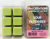Sour Patch Kids (Type) - Scented All Natural Soy Wax Melts - 6 Cube Clamshell 3.2oz DOUBLE SCENTED!