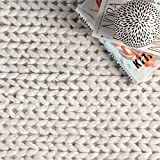 nuLOOM 200CB01-2608 Caryatid Handwoven Solid Wool