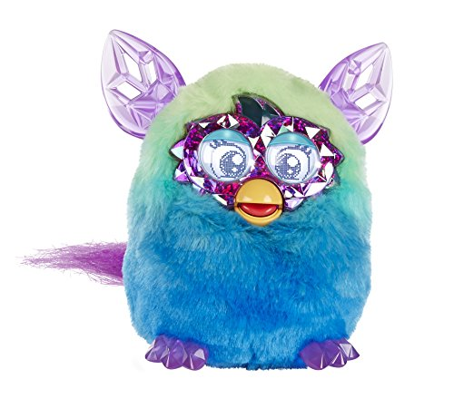 Hasbro Furby – Muñeco de la Serie Boom Crystal 'Ombre' – Verde / Azul