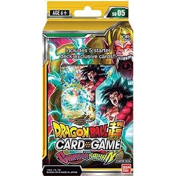 Dragon Ball Super The Crimson Saiyan Deck Series 4 Colossal Warfare