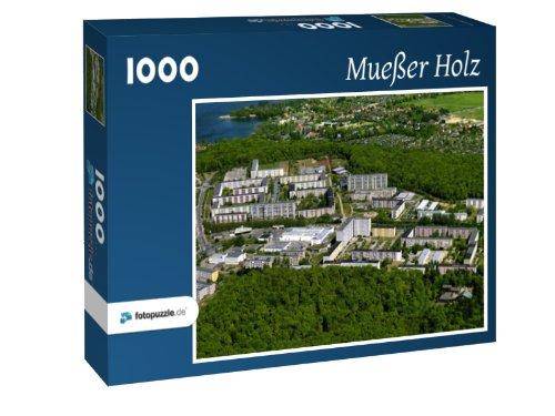 Mueßer Holz - Puzzle 1000 Teile mit Bild von oben