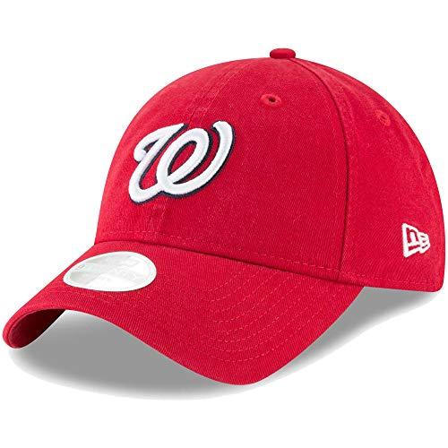 New Era Washington Nationals Women's Core Classic Twill Team Color 9TWENTY Adjustable Hat