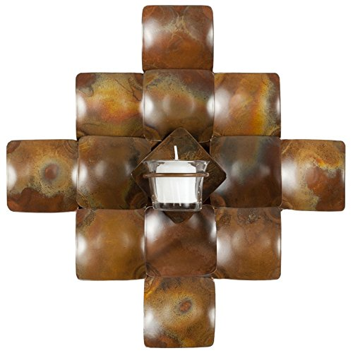Safavieh Wall Art Collection Fancy Cross Candle Holder Wall Sconce