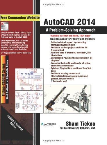 AutoCAD 2014: A Problem Solving Approach