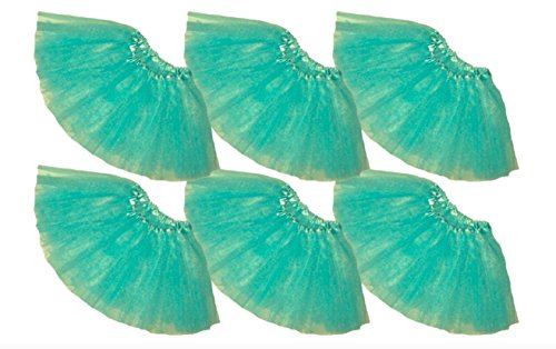 Southern Wrag Company Little Girls' Ballet Tutu 6 Pack Waist 16-28 Length 10-11 (Aqua) ()