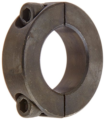 Climax Metals 2C-100X5 Mild Steel Black Oxide Plating Clamping Collar, 1