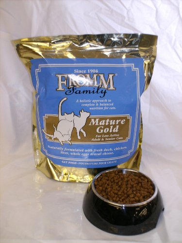Fromm Gold Holistic Mature Dry Cat Food, 2.5-Pound Bag