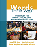 Words Their Way: Word Study for Phonics, Vocabulary, and Spelling Instruction (Words Their Way Series)