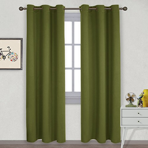 door panel curtains double rod - 3