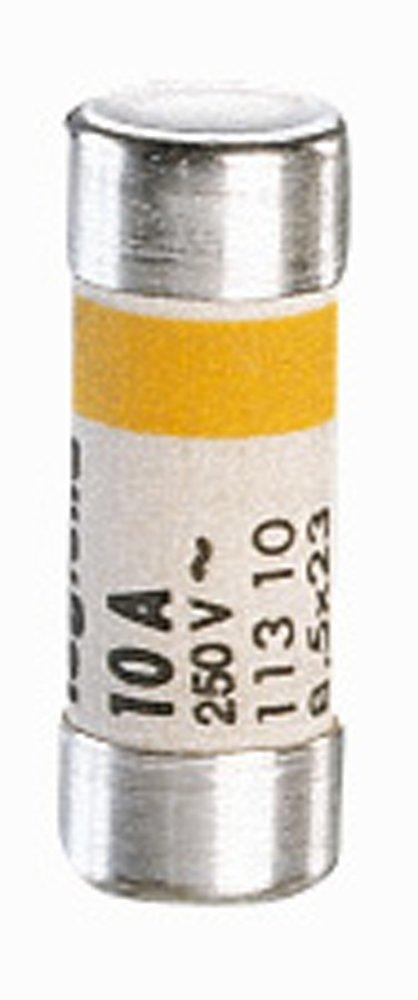 Legrand LEG11410 Set da 10 cartucce domestiche con etichetta 8,5 x 23 mm 10 A