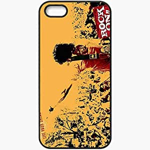 Personalized iPhone 5 5S Cell phone Case/Cover Skin 2013 hardrock music Black