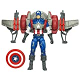 Marvel Captain America With Glider Jetpack