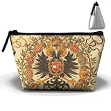 Coat Of Arms Of Germany Cute Trip Toiletry Bag Trapezoidal Zipper Receive Bag Travel Fashion