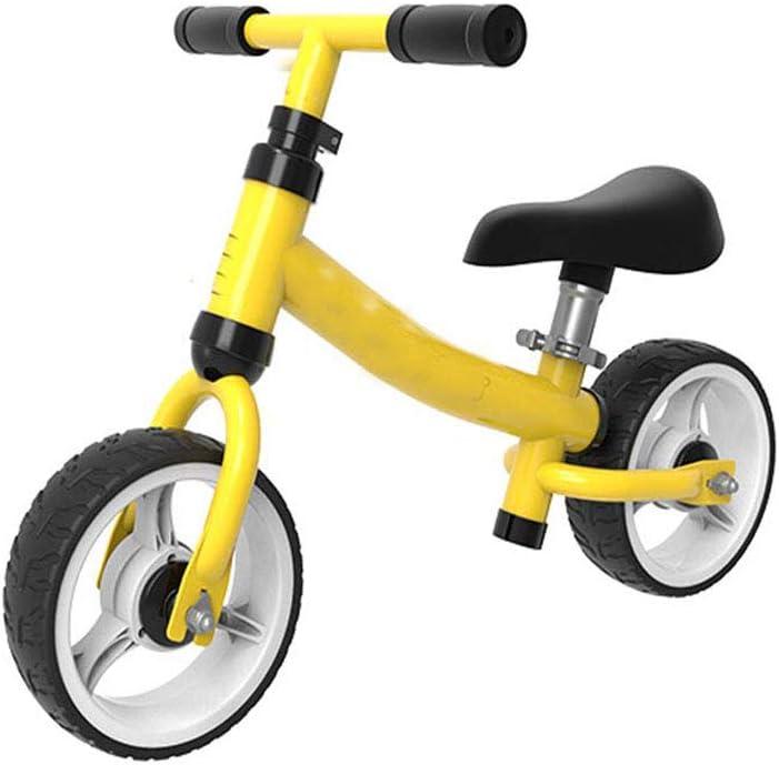 RXRENXIA Bebé Bicicleta De Equilibrio, Sin Pedal del Bebé Paseo De Coches De Juguete para Los 1-3 Años De Edad Los Niños De 12-36 Meses Walker Duradero