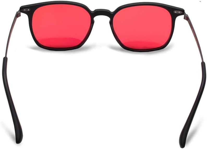 Color Weakness Color Blind Glasses for Men with Red-Green Blindness Color Vision Disorder Purple Blue Lens