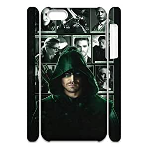 VNCASE Green Arrow Phone Case For Iphone 4/4s [Pattern-5]