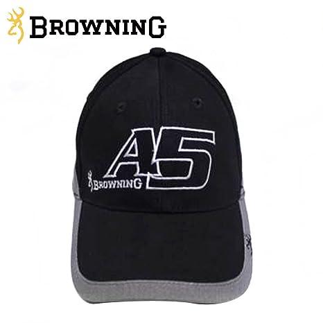Browning Cap A5 Black Grey: Amazon.es: Deportes y aire libre