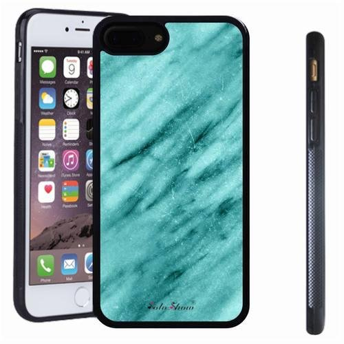 iphone 7 8 Plus case, SoloShow(R) Slim Shockproof TPU Soft Case Rubber Silicone for Apple iphone 7 8 Plus [Mint Green 3]