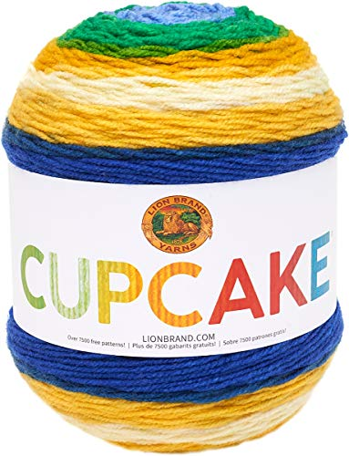 Lion Brand Yarn Cupcake Yarn, Pot of Gold