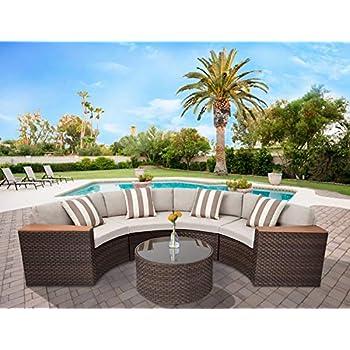 Amazon Com Genuine Ohana Outdoor Patio Wicker Furniture