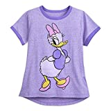 Disney Daisy Duck Ringer T-Shirt for Women Size Ladies XL Multi