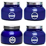 Capri Blue 19 oz 4 Scent Signature Blue Jar Candles (4 pack)
