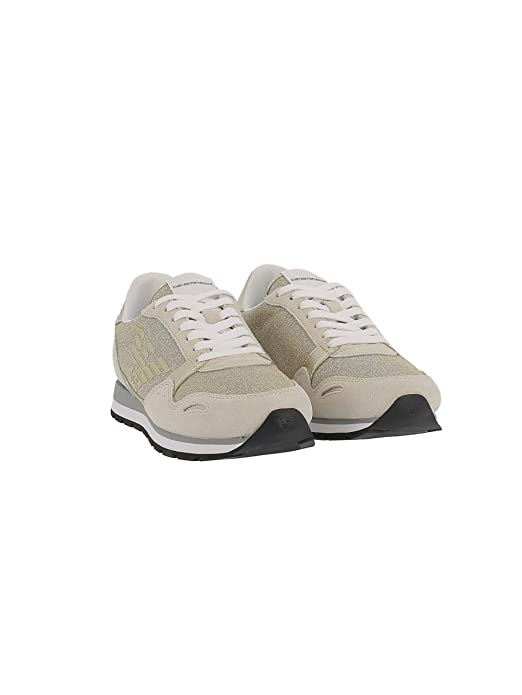 Xl617 ModArmx3x058 Whtgold Armani Sneaker Donna qSGzMLUVp