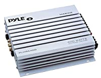 Pyle PLMRA400 400-Watt 4-Channel Waterproof Marine/Car Amplifier