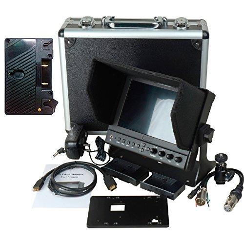 Delvcam 7in. Camera-Top SDI Monitor w/ Video Waveform and Anton Bauer Mount (DELV-WFORM7SDIAB) by Delvcam