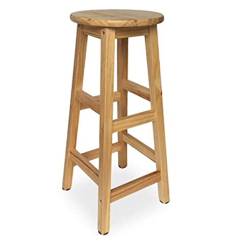 Excellent Amazon Com Modern Wooden Bar Stool High Stool And Round Uwap Interior Chair Design Uwaporg