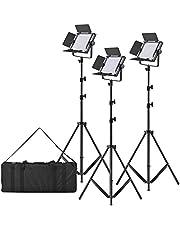 LED-320A Video Light Panel Set Accessory Equipment Fotografie & grafische vormgeving (Size : Color1)