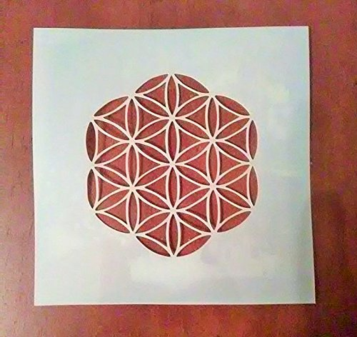 4 Inch Flower Of Life Stencil WeLoveGraphics