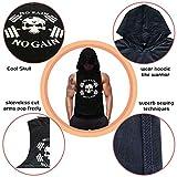 SZKANI Mens Skull Print Sleeveless Fitness Vest