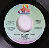 AMBROSIA 45 RPM Holdin' On To Yesterday / Make Us All Aware