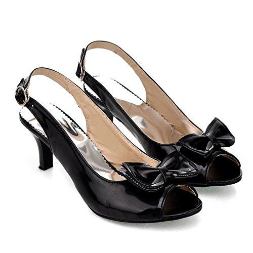 Chaussures Sandales Talon À Slingbacks Milieu Bureau De Cap Nonbrand 00 Femmes Uk Bout De AqSwSC